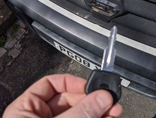 Ldv maxus lost keys