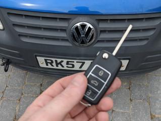 VW caddy 2007