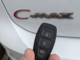 Ford C-max spare key
