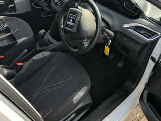 Peugeot 208 spare remote key.