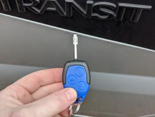 Ford transit spare key.