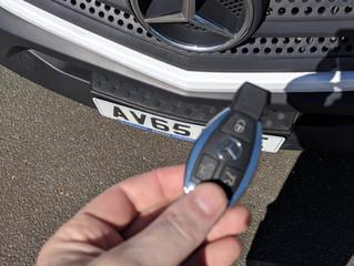 Mercedes sprinter spare key