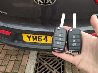 Kia Sportage lost keys