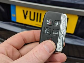 Range rover Evoque, Lost keys.
