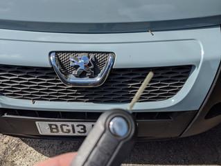Peugeot boxer keys.