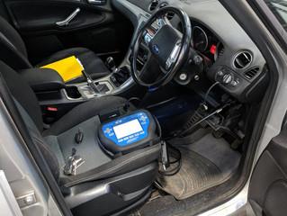 Ford Galaxy 2011 spare remote key.