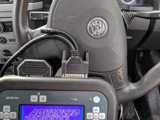 Vauxhall meriva 2004 new ignition barrel with new keys coded.