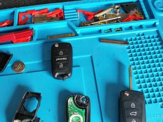 Car key repairs.