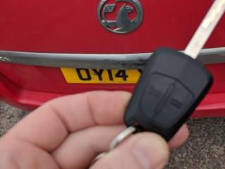 Lost keys in Hove.
