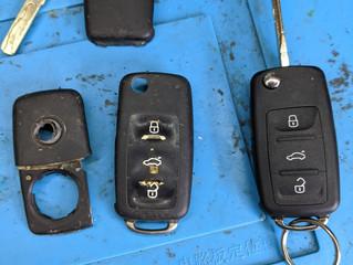 VW T5 key repairs