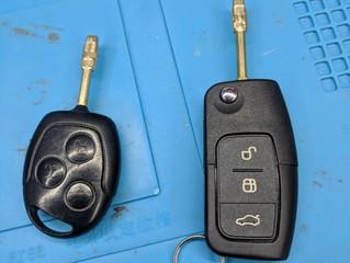 Ford fiesta spare key