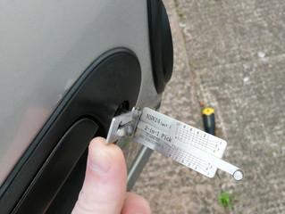 Keys locked inside?