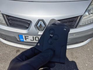 Renault scenic lost keys