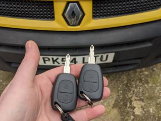 Renault master 2004.