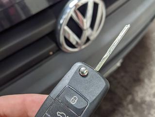 VW transporter spare key.