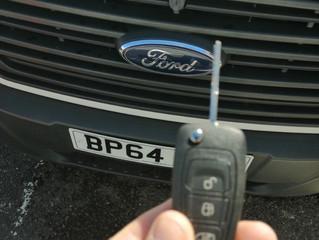 Ford Transit spare key