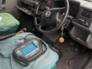 VW T4 spare key in hove