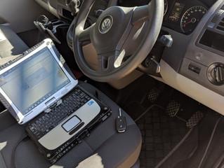 VW T6 spare remote key.