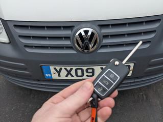 VW caddy 2009.
