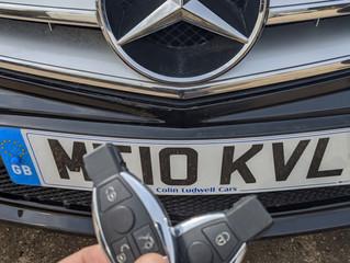 Mercedes lost keys