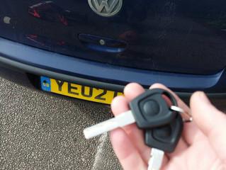 VW Polo lost keys