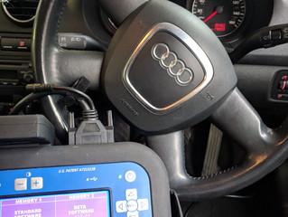 Audi A3 all keys lost.