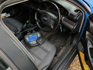 Spare Remote key for an Audi A4 1998.