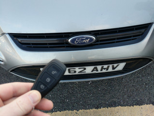 Ford s-max spare key.