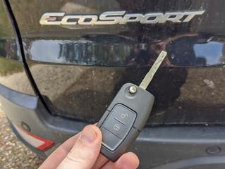 Ford EcoSport spare key.