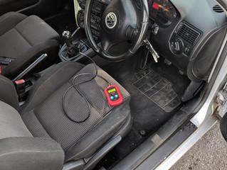 VW golf mk4 2003, lost keys.