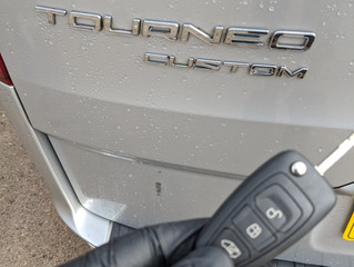 Ford tourneo custom spare key.