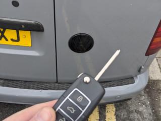 VW caddy 2010.