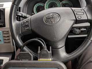 Toyota Corolla lost keys in Hove.