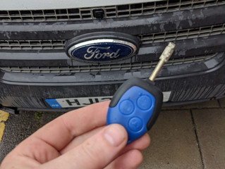 Ford transit spare key.