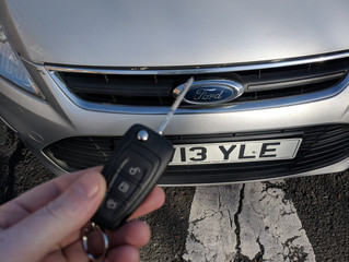 Ford Mondeo spare remote key.