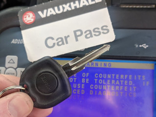 Vauxhall Astra lost keys