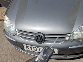 Spare VW golf remote key.