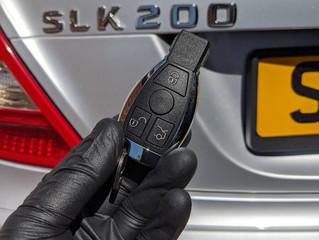 Mercedes slk200 spare key.