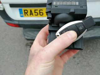 Spare Mercedes key