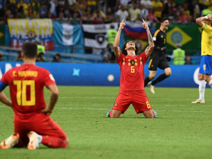 """It's always a Belgian"" Brazil shock exit as they crash out the 'Golden Generation' Belgium"