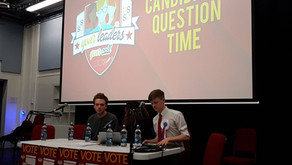Question Time for the Sabbatical Officer Candidates