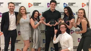 Shock Radio at the SRA Conference 2017 featuring two wins at the I Love Student Radio Awards