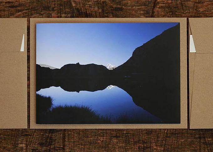 Foto Grusskarten Naturbilder