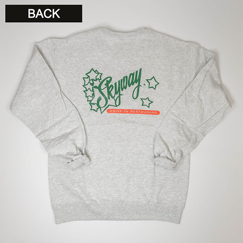 Skyway Crewneck Sweatshirt - Grey