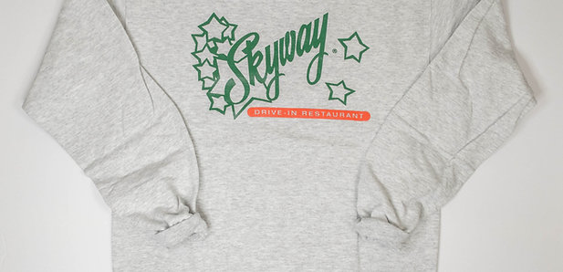 Skyway Crewneck Sweatshirt - Grey