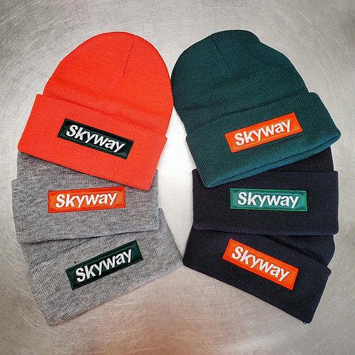 Skyway Box Logo Beanie