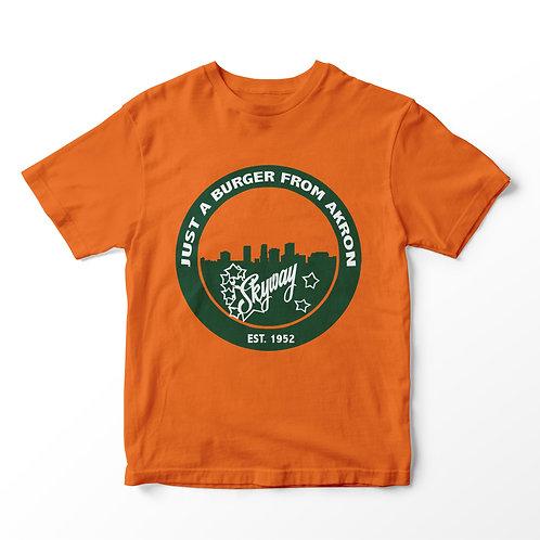 Skyway Akron Skyline Seal Short Sleeve T-Shirt