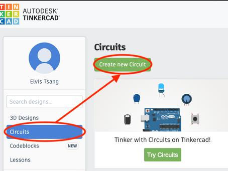 Tinkercad - 在家學習物聯網?