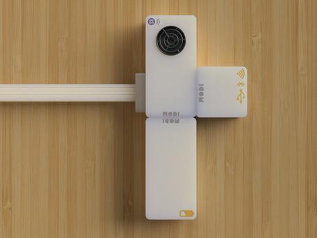 MODI 物聯網入門應用 (2):洗手間空置指示燈