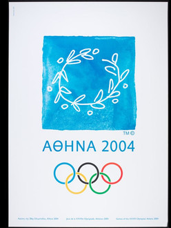 A poster for the 2004 Athens Olympic gma
